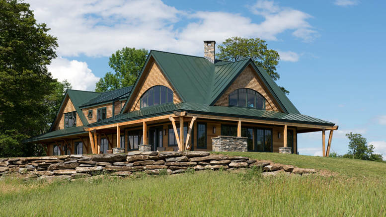 Award Winning Timber Frame Vermont Farmhouse 12 Hq