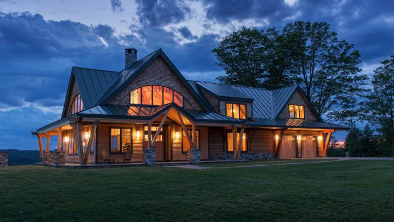 Award Winning Timber Frame Vermont Farmhouse 12 Hq