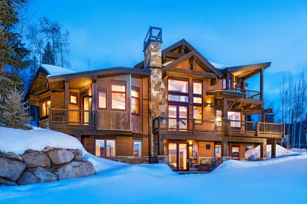 Modern Mountain Cabin W Amazing Views 20 HQ Pictures
