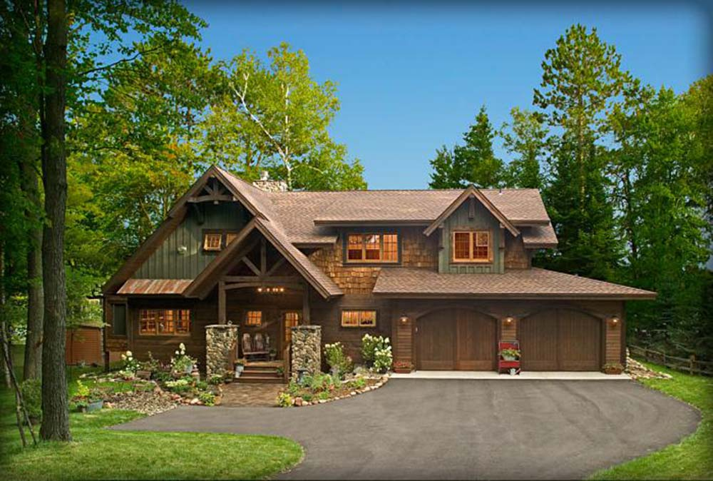 Beautiful Timber Lake House 12 Hq Pictures Top Timber
