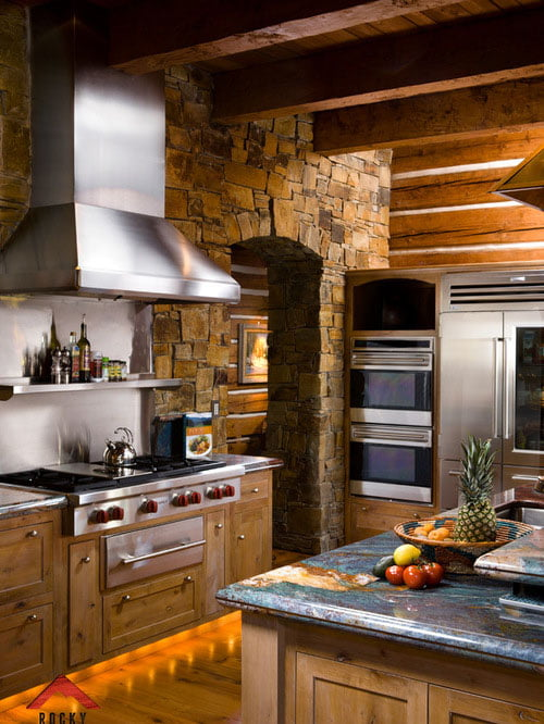 22 Jaw Dropping Small Kitchen Designs: Jaw Dropping Timber Cabin W/ Luxurious Interior Design (20