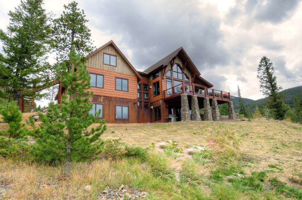 Gorgeous Timber Frame Custom Mountain Home 17 Hq Pictures