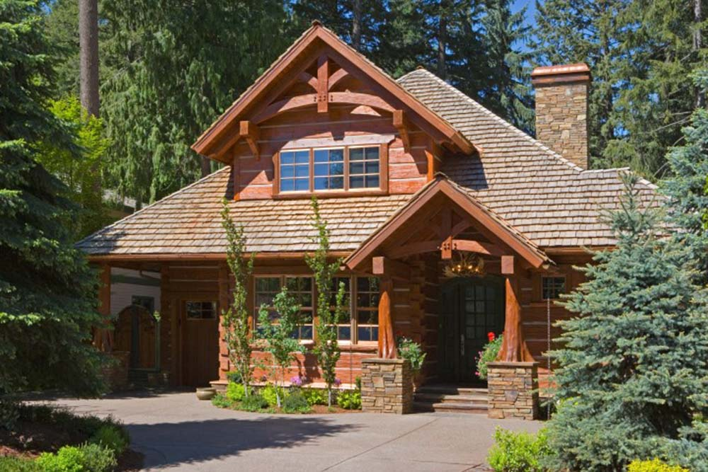 Elegant timber frame residency top timber homes for Elegant log homes