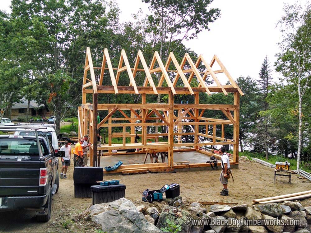 Timber Frame Barn Package for only $62,580 - Top Timber Homes
