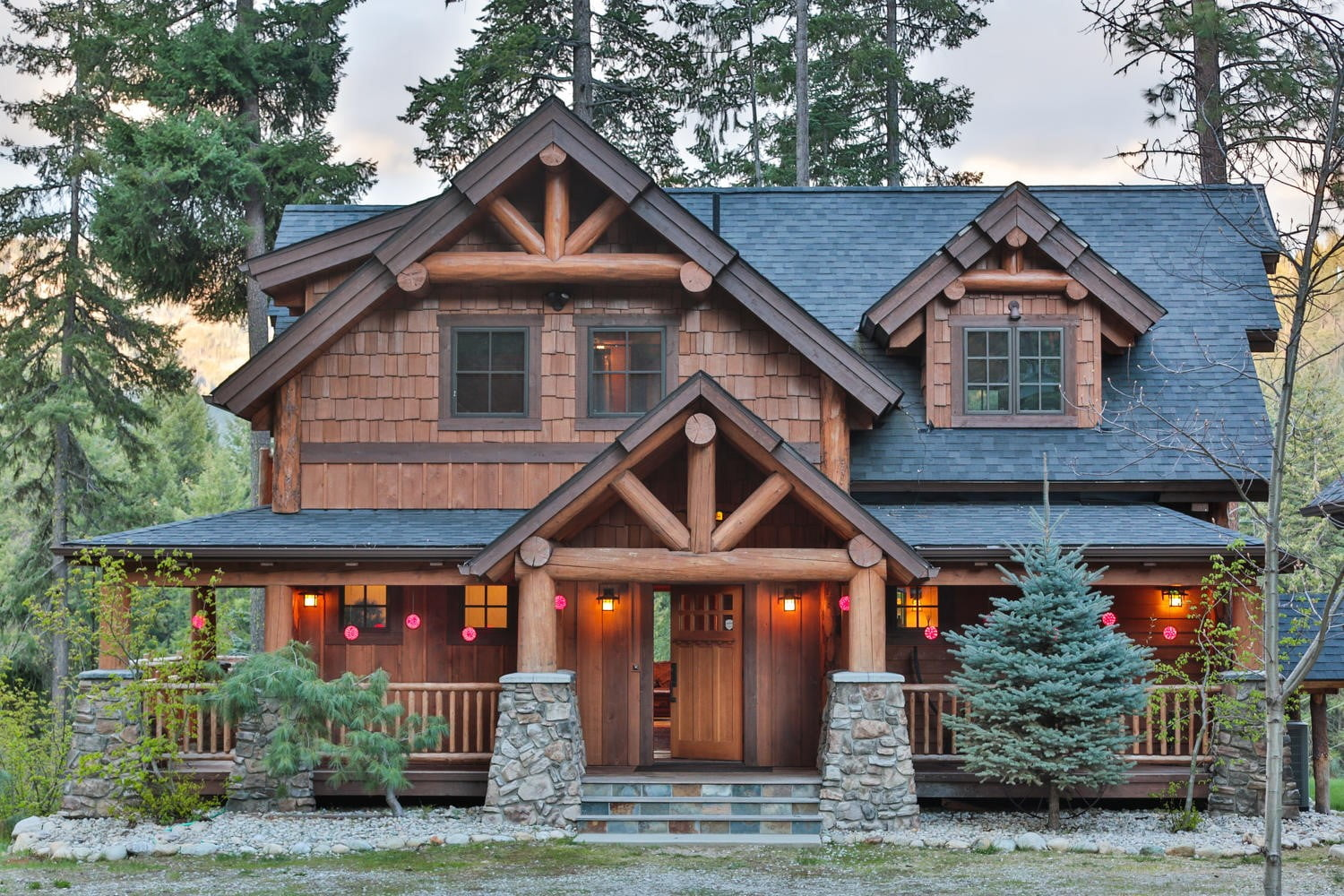 Outstanding Timber Frame Home W 3 Bedrooms Top Timber