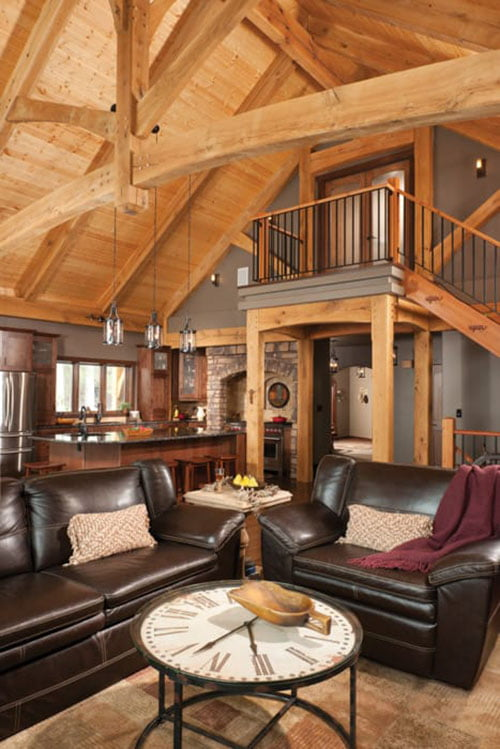 Outstanding Timber Frame Home 19 Hq Pictures Top