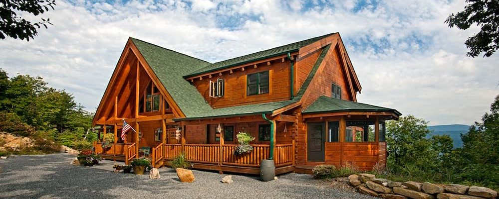 Classic timber frame home w beautiful decoration top for Beautiful a frame homes