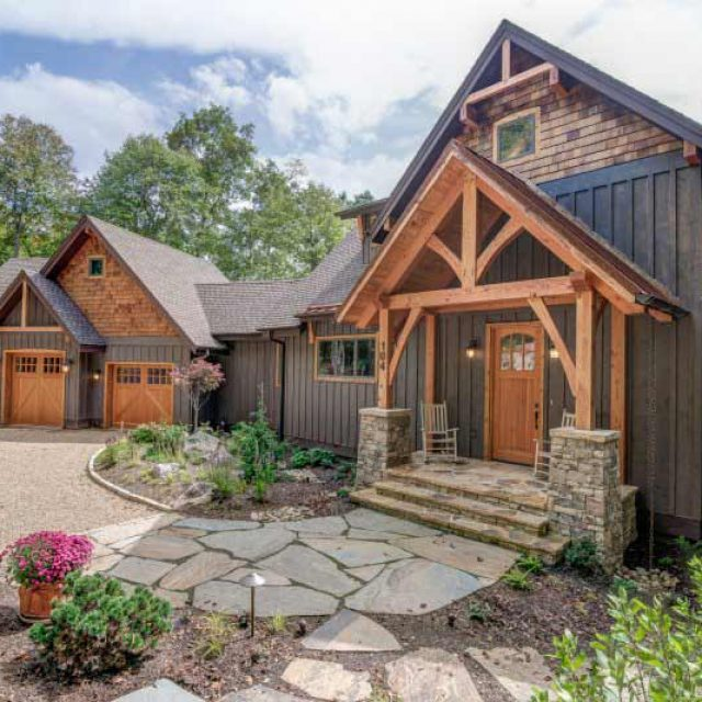 Beautiful Timber Frame Residence (18 HQ Pictures)