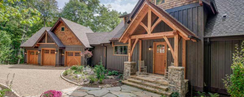 Beautiful timber frame residence 18 hq pictures top for Beautiful a frame homes
