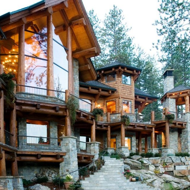 Picturesque view from amazing lodge (9 HQ pictures)