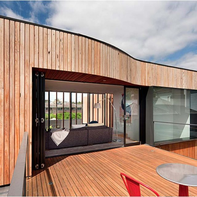 Modern Timber Home Unlike Any Other (16 HQ Images)