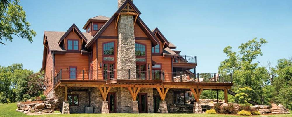Beautiful Ranch Home Made with Timber!