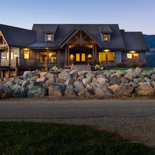 Custom Regular Timber Frame Home (18 HQ Pictures)
