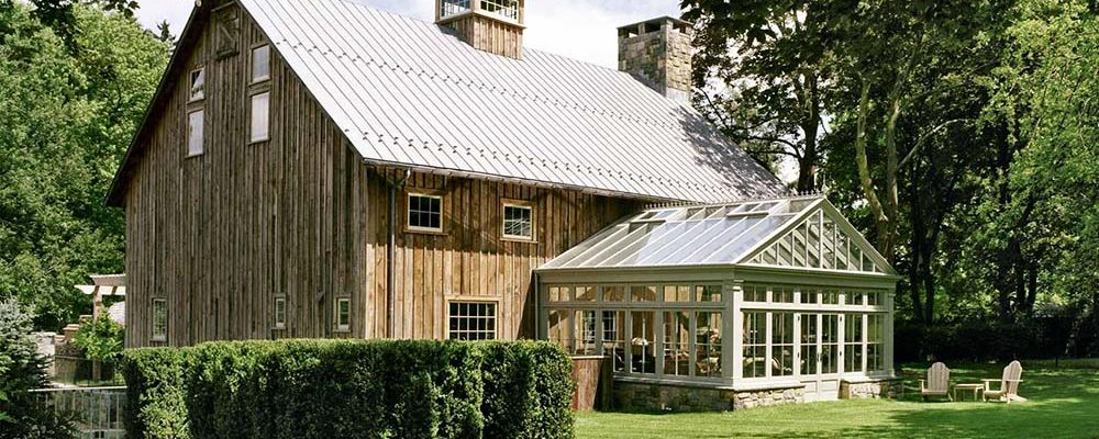 Outstanding Refurbished Timber Barn With Sunroom (8 HQ Images)