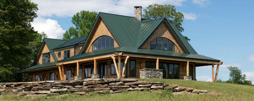 Award-Winning Timber Frame Vermont Farmhouse (12 HQ Pictures)