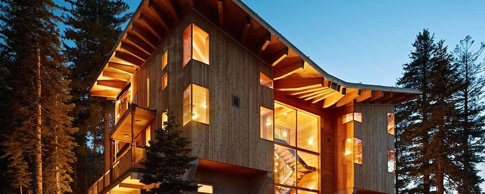 Modern Timber Mountain Getaway (20 HQ Pictures)