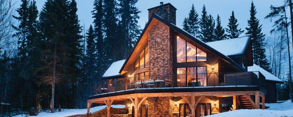 Outstanding Timber Frame Home! (19 HQ Pictures)