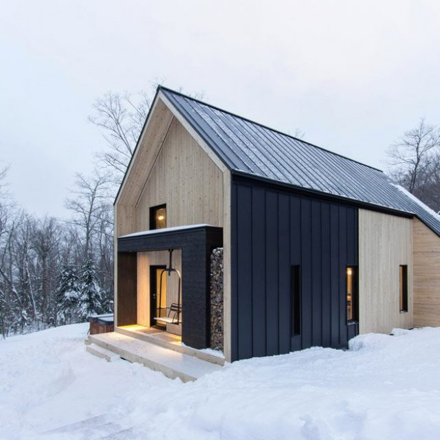 Ultra modern cabin that you would love to live in (14 HQ pictures)