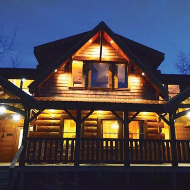 2246 sq. ft. Log Kit Home starting from $62,524