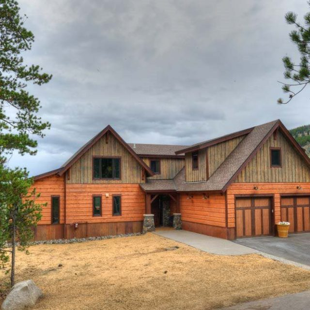Gorgeous Timber Frame Custom Mountain Home (17 HQ Pictures)