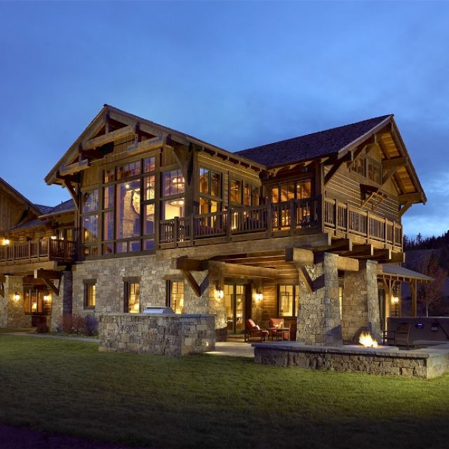 Extraordinary ski chalet that you can not miss (6 HQ pictures)