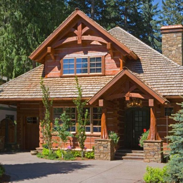 Elegant Timber Frame Residency