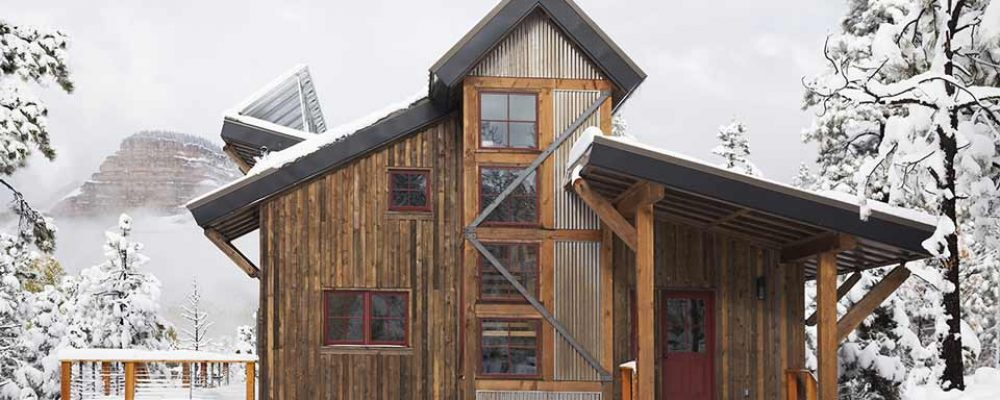 Smart Ecology Home w/ Timber Wood Siding (8 HQ Pictures)