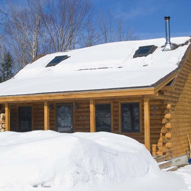 Cozy Complete Timber Cabin for $59,300,