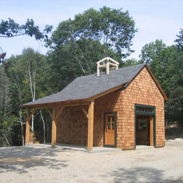 Timber Frame Barn Package for only $62,580