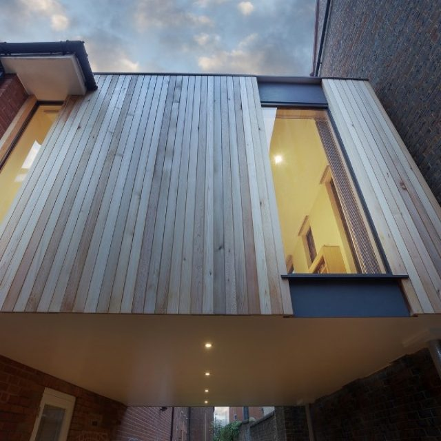 Award winning unique wooden house extension (5 HQ pictures)