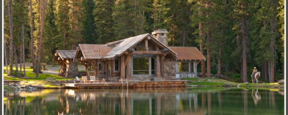 On-lake-shore home with amazing view – everyone's dream (15 HQ pictures)