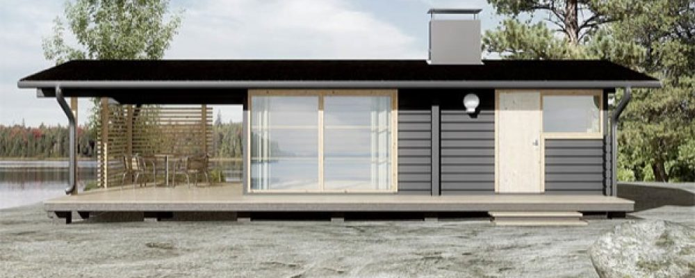 Build this modern cabin yourself for only 19K (4 HQ pictures)