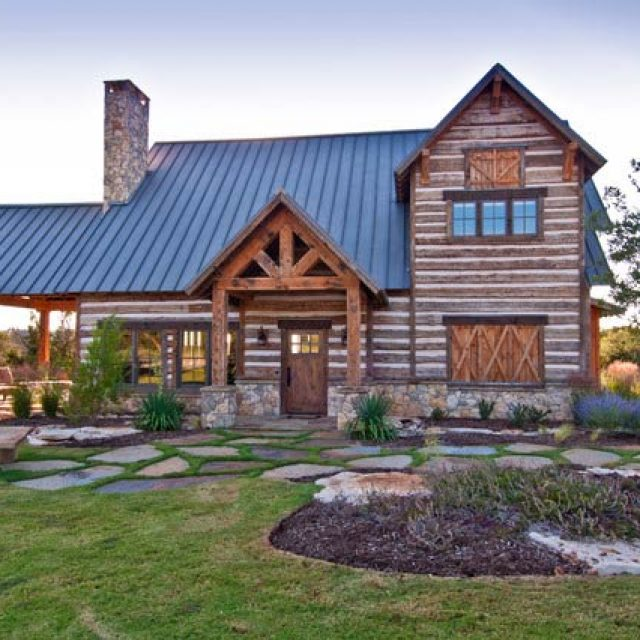 Welcoming Texas Vacation Timber Frame Cabin (14 HQ Pictures)
