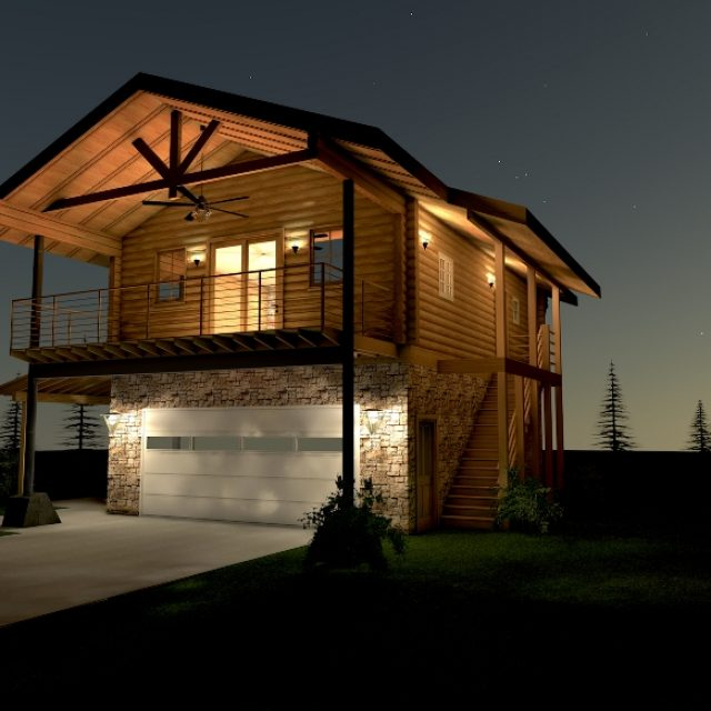 Dream DIY log home for only $29K (9 HQ pictures)