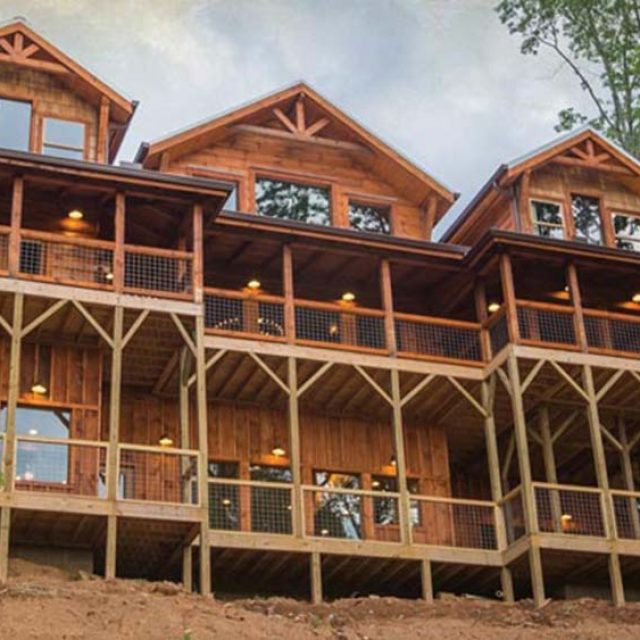 Awesome 3978 sq. ft. Log Home Kit from $99,069