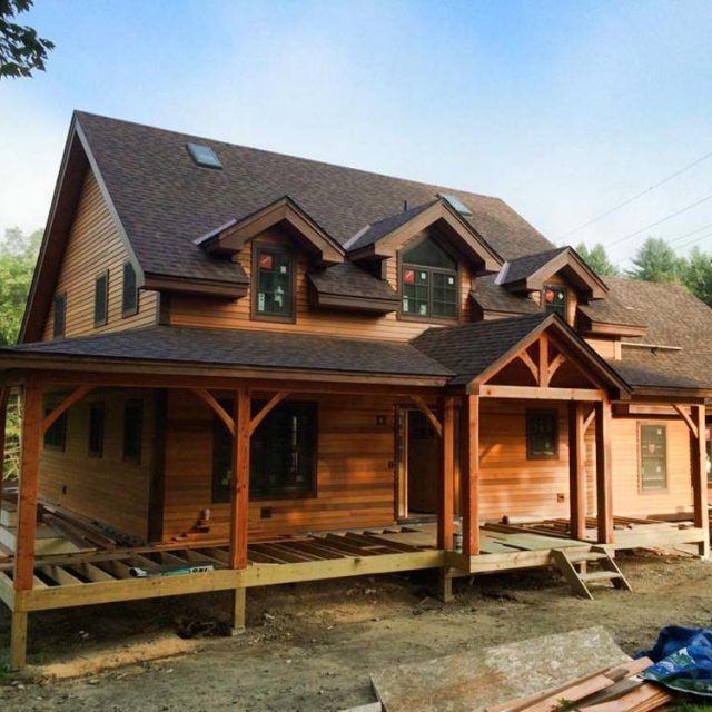 Amazing Timber Dutch Saltbox Home w/ 3 Bedrooms.