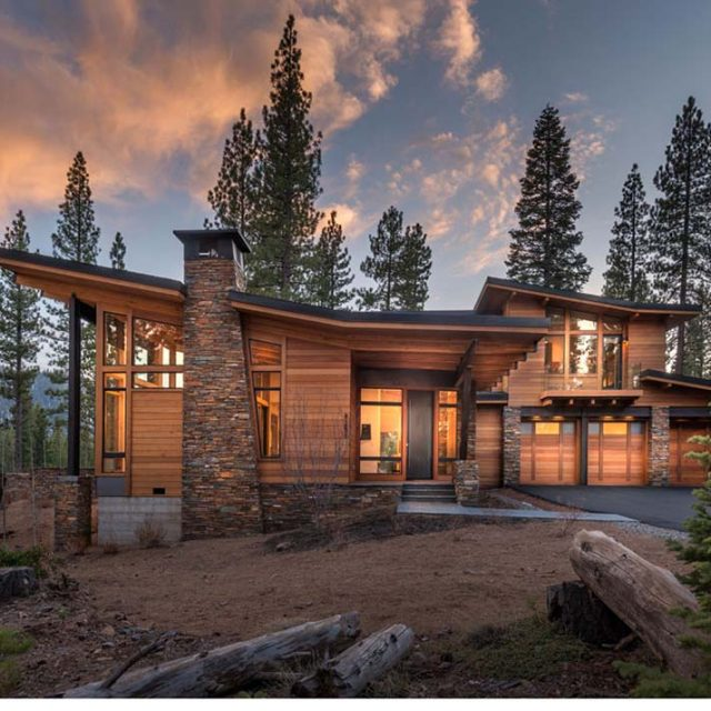 Contemporary Vacation Timber Home for Large Family (14 HQ Pictures)